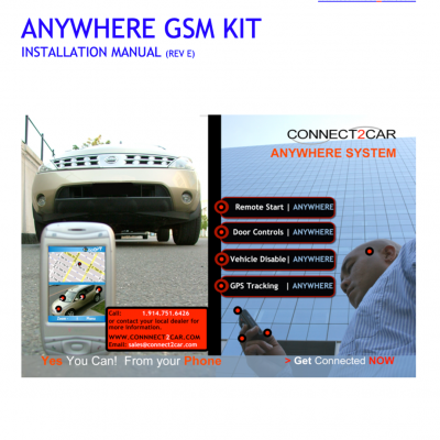 Connect2Car_ANYWHERE_INSTALLATION _MANUAL