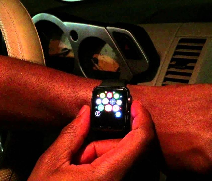 Start your car with an Apple Watch